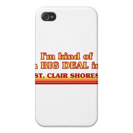 Soy un poco una GRAN COSA en orillas del St. Clair iPhone 4 Coberturas