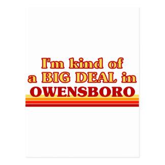 Soy un poco una GRAN COSA en Owensboro Postal