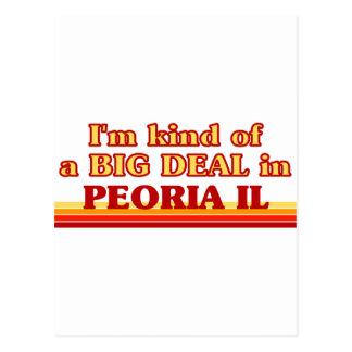 Soy un poco una GRAN COSA en Peoria Postal