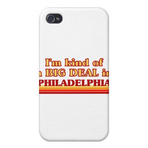 Soy un poco una GRAN COSA en Philadelphia iPhone 4 Funda