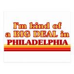Soy un poco una GRAN COSA en Philadelphia Postal