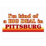 Soy un poco una GRAN COSA en Pittsburg Postal
