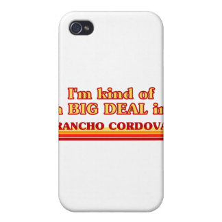 Soy un poco una GRAN COSA en Rancho Cordova iPhone 4/4S Carcasa