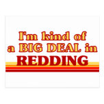 Soy un poco una GRAN COSA en Redding Postales