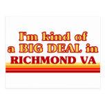 Soy un poco una GRAN COSA en Richmond Tarjeta Postal