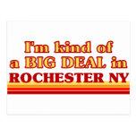 Soy un poco una GRAN COSA en Rochester Postal