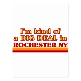 Soy un poco una GRAN COSA en Rochester Tarjetas Postales