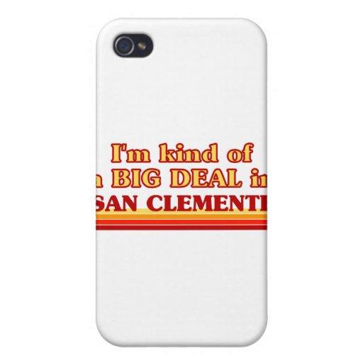 Soy un poco una GRAN COSA en San Clemente iPhone 4 Carcasas