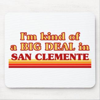 Soy un poco una GRAN COSA en San Clemente Alfombrilla De Ratón