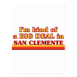 Soy un poco una GRAN COSA en San Clemente Postal