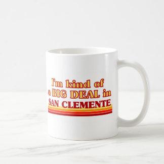 Soy un poco una GRAN COSA en San Clemente Taza De Café