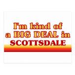 Soy un poco una GRAN COSA en Scottsdale Postales