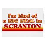 Soy un poco una GRAN COSA en Scranton Felicitacion