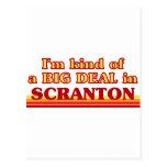 Soy un poco una GRAN COSA en Scranton Tarjetas Postales