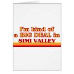 Soy un poco una GRAN COSA en Simi Valley Tarjetón