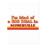 Soy un poco una GRAN COSA en Somerville Postal