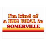 Soy un poco una GRAN COSA en Somerville Postales