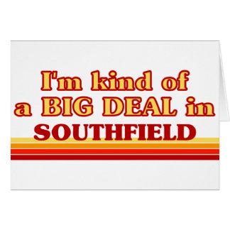 Soy un poco una GRAN COSA en Southfield Tarjeton