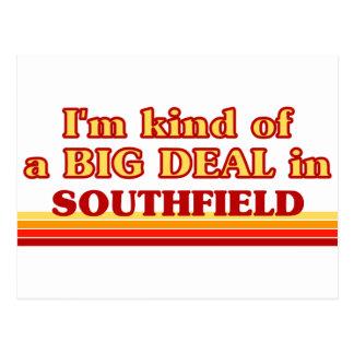 Soy un poco una GRAN COSA en Southfield Postal