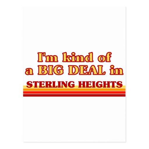 Soy un poco una GRAN COSA en Stillwater Tarjeta Postal