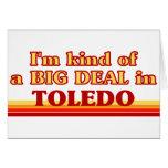 Soy un poco una GRAN COSA en Toledo Felicitacion