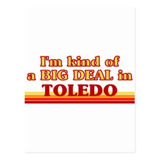 Soy un poco una GRAN COSA en Toledo Tarjetas Postales