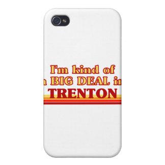 Soy un poco una GRAN COSA en Trenton iPhone 4 Carcasas