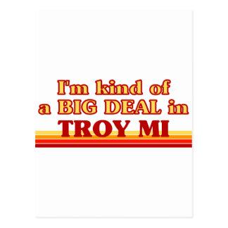 Soy un poco una GRAN COSA en Troy Postal