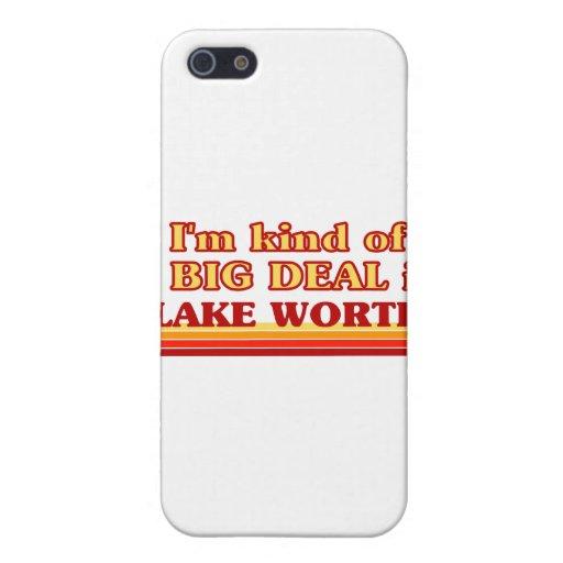 Soy un poco una GRAN COSA en valor del lago iPhone 5 Cárcasas