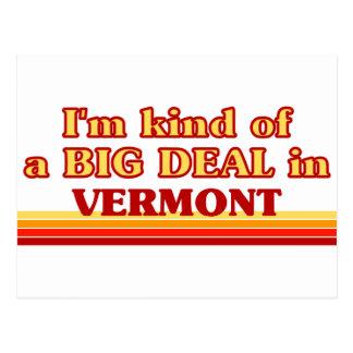 Soy un poco una GRAN COSA en Vermont Postal