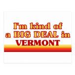 Soy un poco una GRAN COSA en Vermont Tarjeta Postal