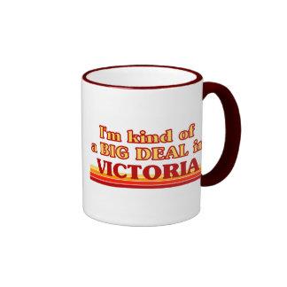Soy un poco una GRAN COSA en Victoria Taza A Dos Colores
