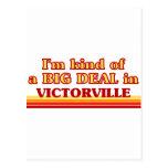 Soy un poco una GRAN COSA en Victorville Postal
