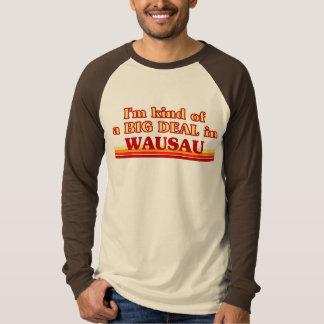 Soy un poco una GRAN COSA en Wausau Playeras