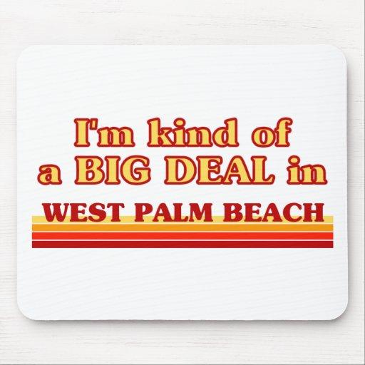 Soy un poco una GRAN COSA en West Palm Beach Tapetes De Ratones