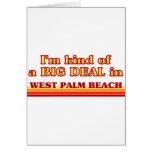 Soy un poco una GRAN COSA en West Palm Beach Felicitacion