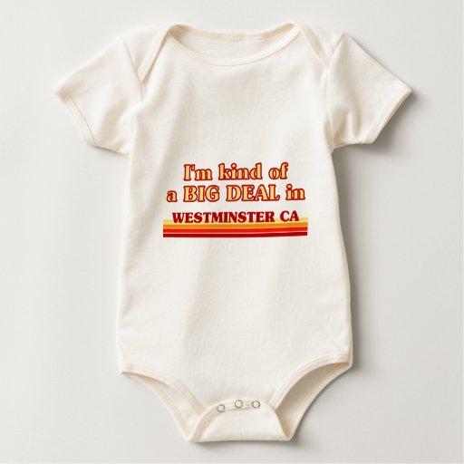 Soy un poco una GRAN COSA en Westminster Trajes De Bebé