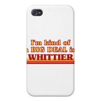 Soy un poco una GRAN COSA en Whittier iPhone 4 Cárcasa