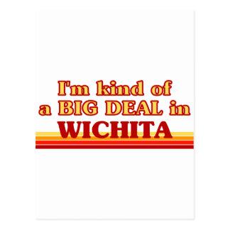 Soy un poco una GRAN COSA en Wichita Tarjetas Postales