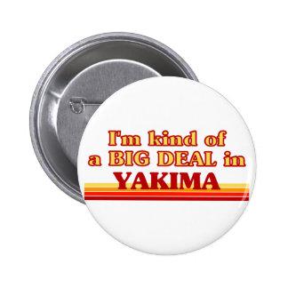Soy un poco una GRAN COSA en Yakima Pin