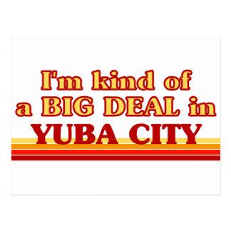 Soy un poco una GRAN COSA en Yuba City Tarjeta Postal