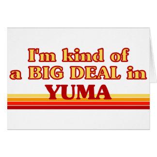 Soy un poco una GRAN COSA en Yuma Tarjeta De Felicitación