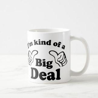 Soy un poco una gran cosa taza de café