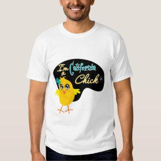 Soy un polluelo de California Remeras