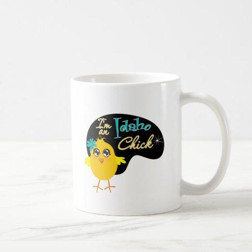 Soy un polluelo de Idaho Tazas De Café