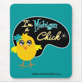 Soy un polluelo de Michigan Alfombrilla De Raton