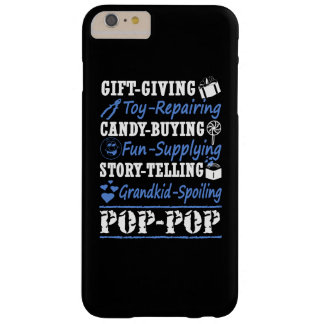 Soy UN POP-POP ORGULLOSO Funda Barely There iPhone 6 Plus