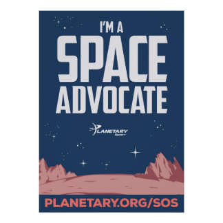 Soy un poster del abogado del espacio