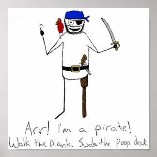 Soy un poster del pirata