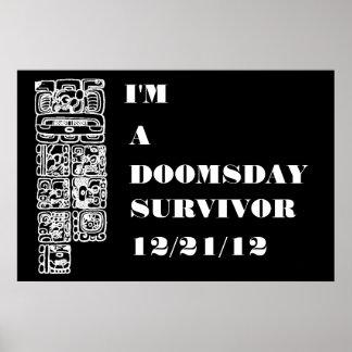 Soy un poster del superviviente 12 21 12 del día d